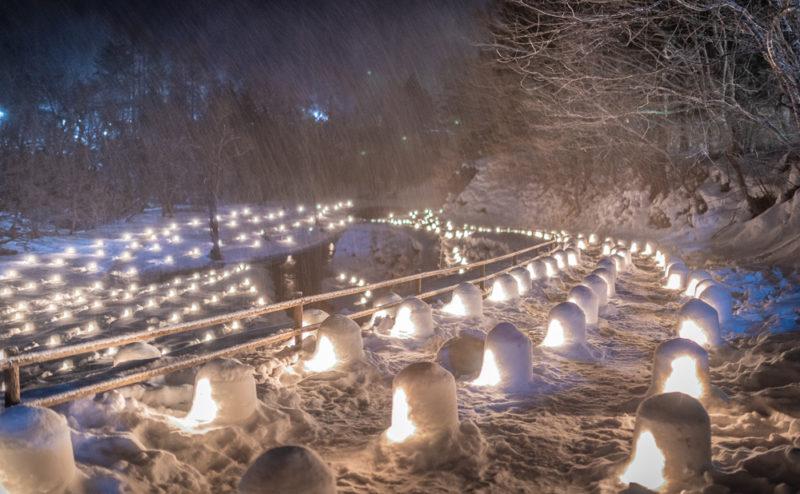【湯西川温泉かまくら祭 2020】期間は1/31(金・夜)〜3/1(日)